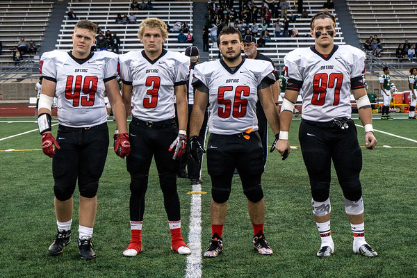 Orting Football Vs Clover Park 2015