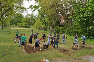 City Serve 2012: Cudell Neighborhood Garden