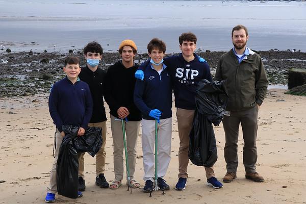 Environmental Club Beach Cleanup