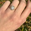 1.97ctw Antique Cluster Ring, GIA G SI2 29