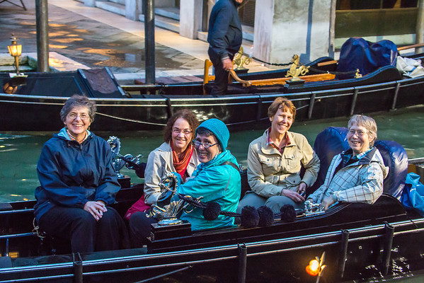 Venice - Day 2 - Evening Gondola Ride