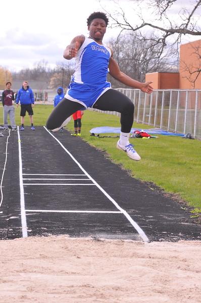 04-04-17 Sports Track Tri Meet @ DHS