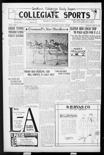Daily Trojan, Vol. 17, No. 140, May 10, 1926