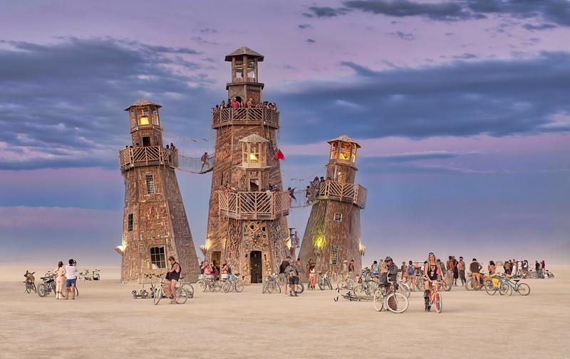 The Black Rock Lighthouse