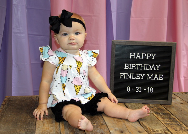 Finley Mae is One!!