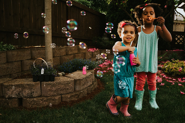 Art + Bubbles with the Pentons