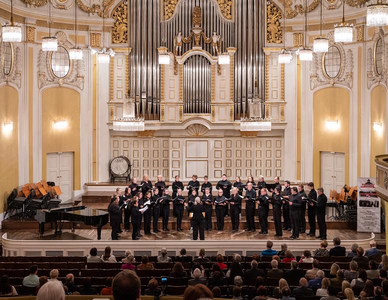 The a capella choir