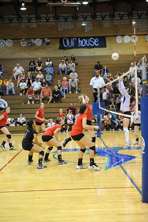 <center><br>Lady Titan Volleyball <br>Union at Mt View<br>Sept 24, 2009</center>