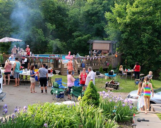 5-27-18 Cabalar's Blue Devil's Memorial Day BBQ