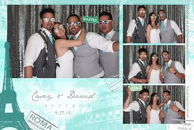 David & Casey's Wedding (LED Open Air Photobooth)