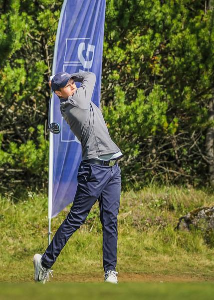 GM, Sverrir Haraldsson Íslandsmót í golfi 2019 - Grafarholt 2. keppnisdagur Mynd: seth@golf.is