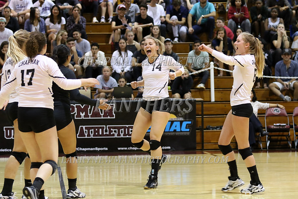 VOLLEYBALL vs. Claremont-M-S 9-17-16