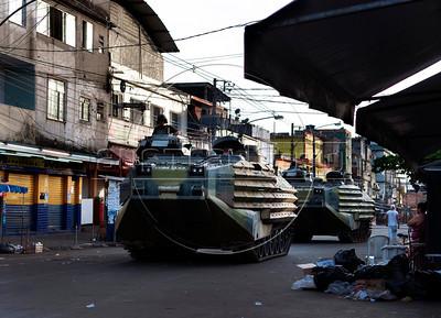 Maré slum occupation