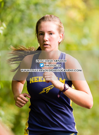 9/14/2016 - Girls Varsity Cross Country - Brookline, Dedham, Milton, Needham