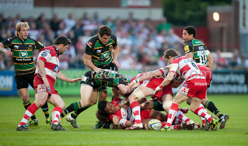 Gloucester vs Northampton Saints, Aviva Premiership, Kingsholm, 19 April 2011