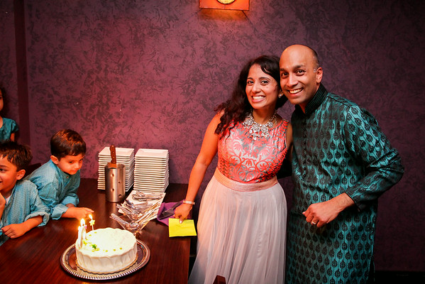 Birthday Party // Meenakshi's 40th