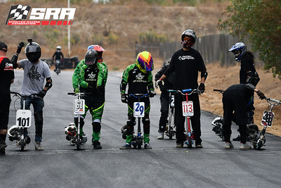 Go Ped Racer Starting Line