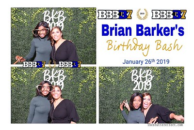 Brian Barker's Birthday Bash