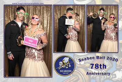 Seabee Ball 2020 Photo Booth