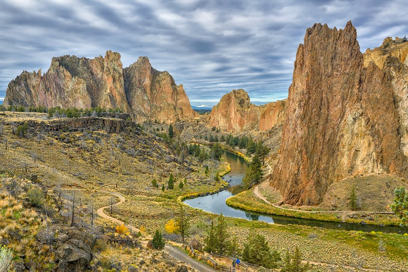 Classic Smith Rock Composition