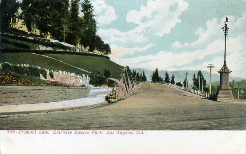 Elysian Park Entrance