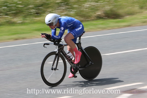 Valley Striders CC 25 mile TT (Yorkshire Spoco) 8th July 2017, Boroughbridge.