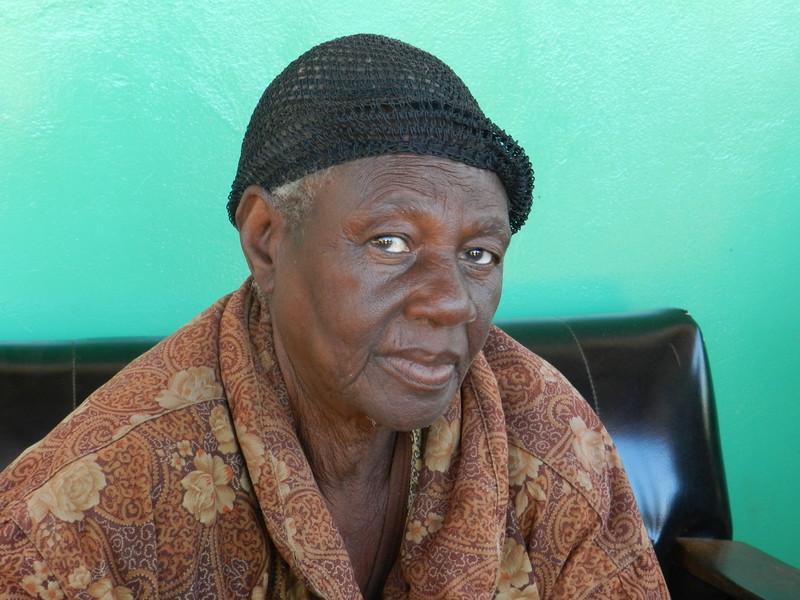 136 - Village Headwoman - Zambia - Anne Davis