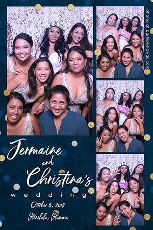 Jermaine & Christina's Wedding (Magic Mirror Photo Booth)