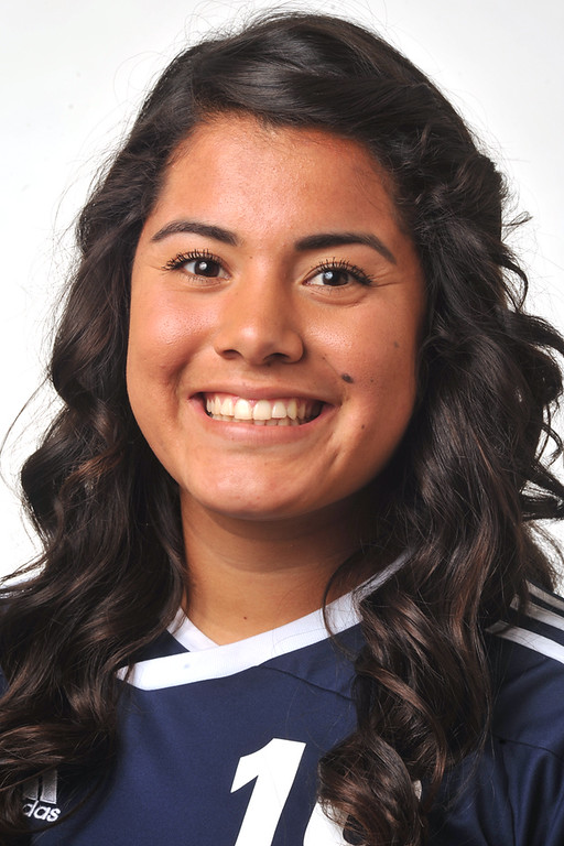 . Andrea Pena from Montebello High School was selected to the Whittier Daily News All-Area Girls Soccer team on Wednesday March 27, 2013. (SGVN/Staff Photo by Keith Durflinger)