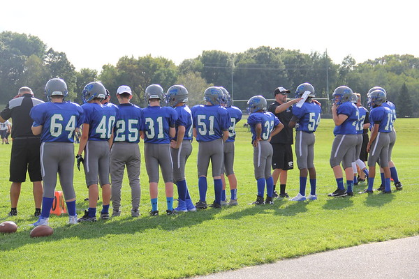 9th Grade  Game 3    Eagan Football 2018