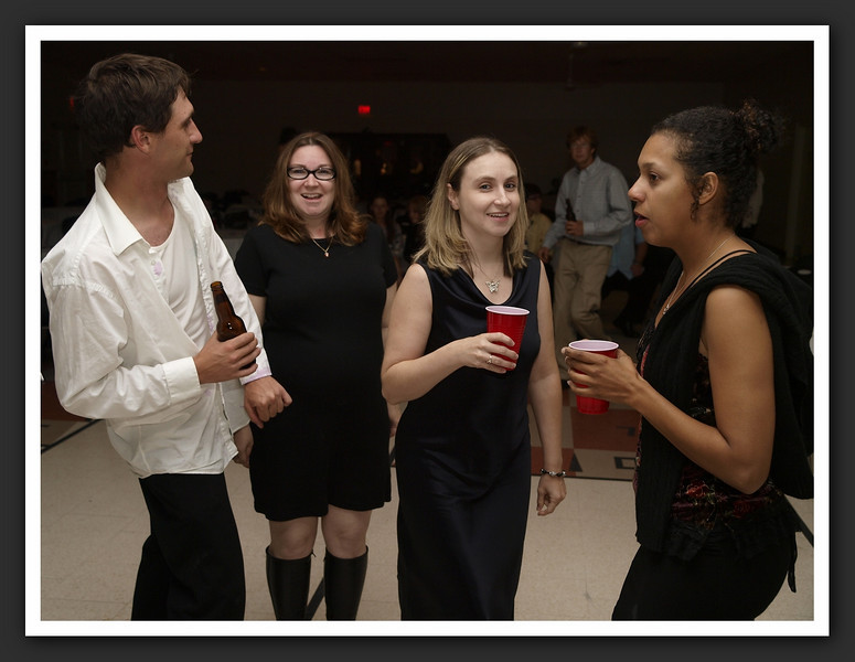 The Reception ... ok, so it was a great party!