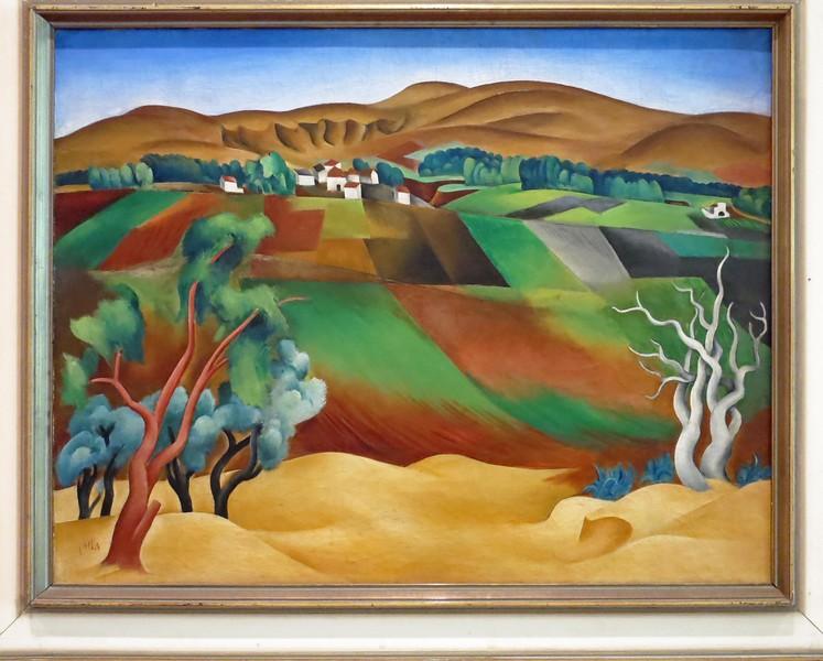View from Tel Aviv to Ramat Gan hills, 1924