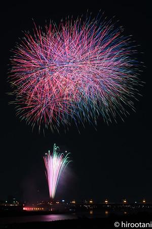 170729 Nagaragawa Fireworks
