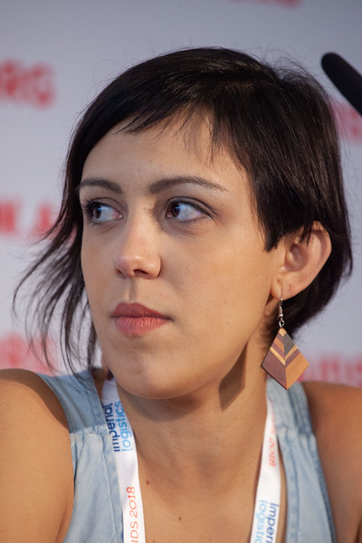 The Netherlands, Amsterdam, 24-7-2018. Press Conference HIV Prevention Highlights Research. Mariana Veloso Meireles.Photo: Rob Huibers for IAS. (Please publish always with complete attribution).