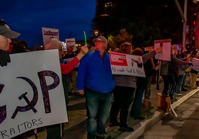 Dec 17 Impeachment Eve Rally - Santa Rosa