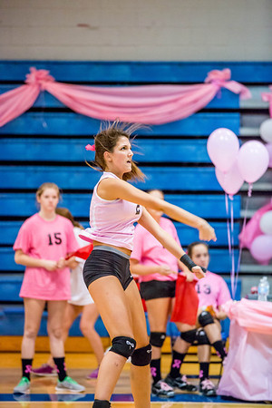 PBS Volleyball 20130926 Pink Game