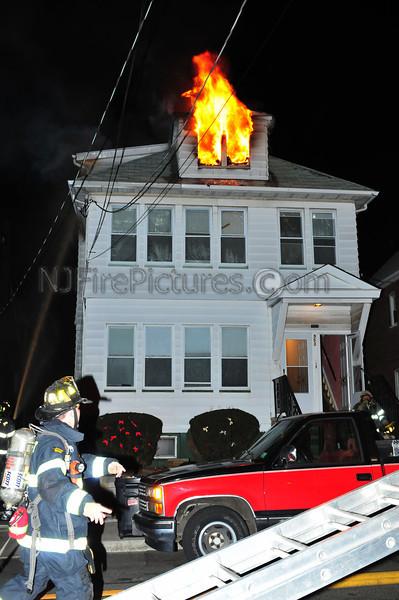 PASSAIC, NJ 3RD ALARM 553 GREGORY AVE 2/25/09
