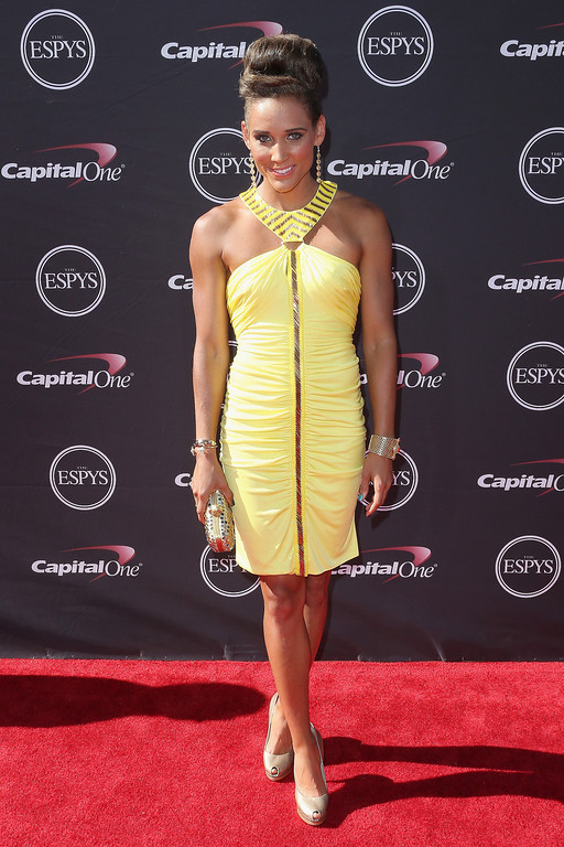 . Track and field athlete Lolo Jones attends The 2013 ESPY Awards at Nokia Theatre L.A. Live on July 17, 2013 in Los Angeles, California.  (Photo by Frederick M. Brown/Getty Images)