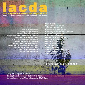 12.07.2019 - Exhibition at Los Angeles Center for Digital Art