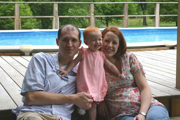 Mike, Kara, & Aidan - May 2005