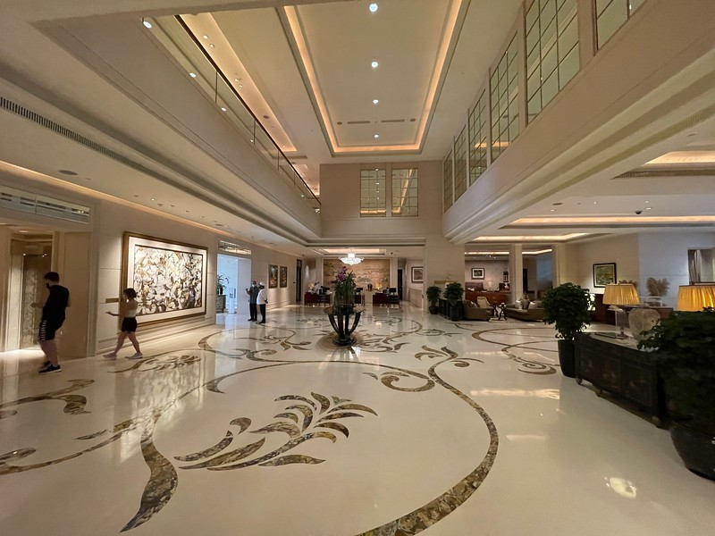 St Regis Singapore Lobby