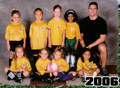 Fall 2006 - Avon Girls U6 Soccer - Team 3 - Part 1