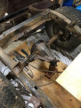 1981 CJ7 Restoration - 2018.09.23