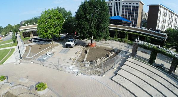Dede Plaza renovation 2014
