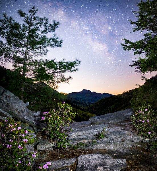 Linville Gorge at Night