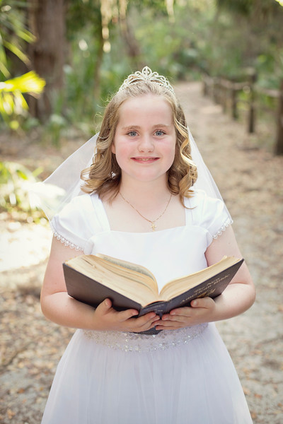 Isabelle's First Communion