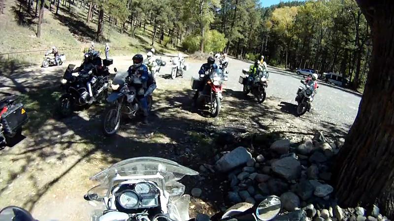 2010-09-26 Elk Mtn BMW Shop Ride 01a Liaison To Dirt