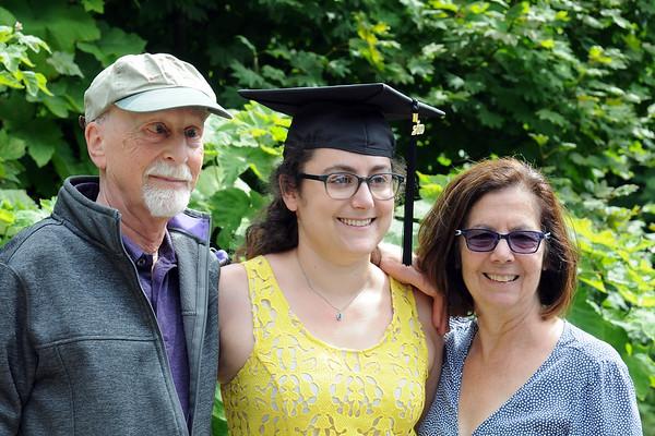 Alea's Masters Graduation