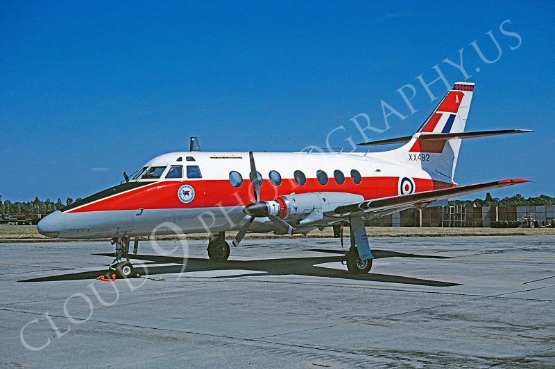 BAE Jetstream 00003 BAE Jetstream British RAF XX492 via African Aviation Slide Service.JPG