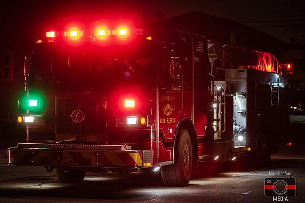 Dearborn MI, House Fire 11-28-2019